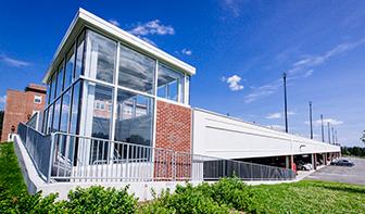 Tobey Building Deck, Concord, NH