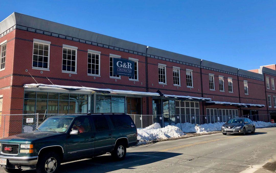 Newburyport, MA, Parking Structure Features Historic Details