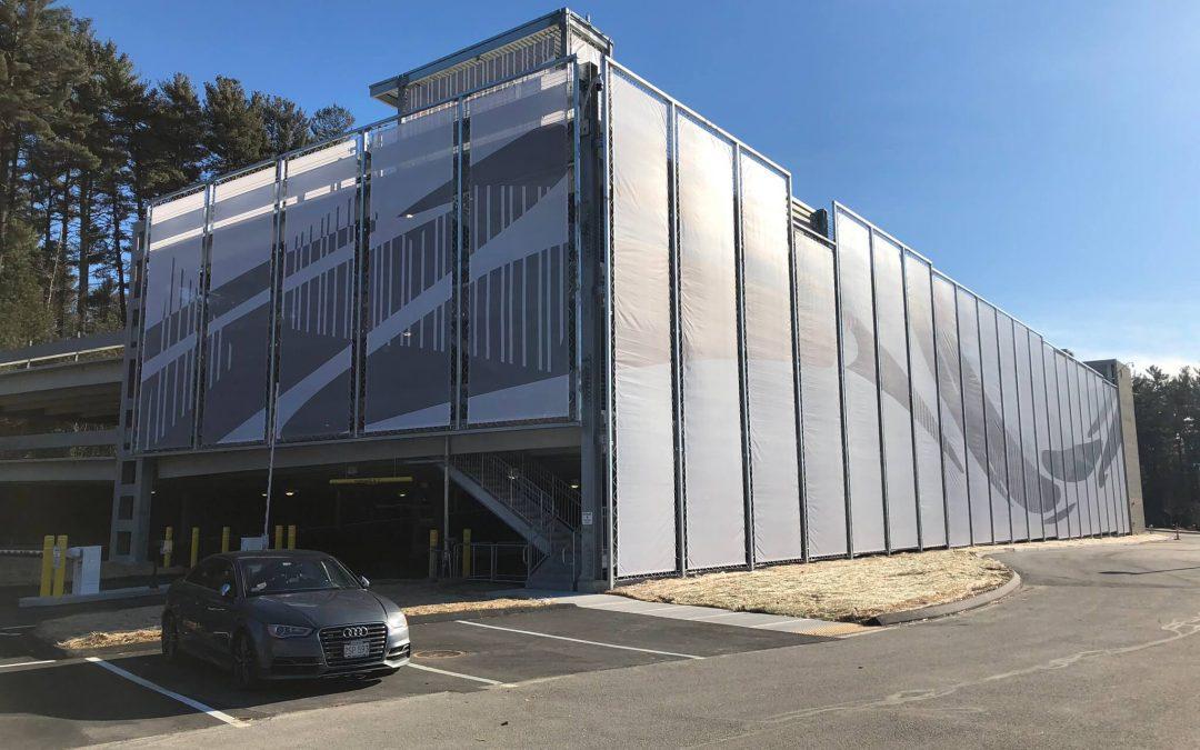 Parking Garage for Biopharm Campus in Billerica, MA